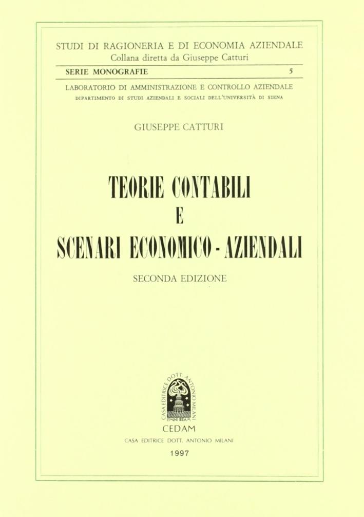 Teorie contabili e scenari economico-aziendali
