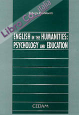 English in the humanities: psychology and education.