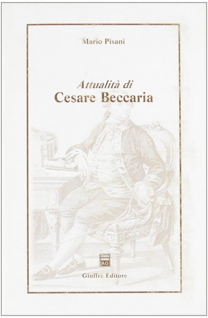 Attualità di Cesare Beccaria