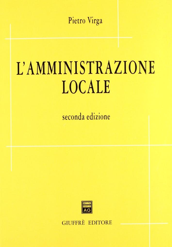 L'amministrazione locale