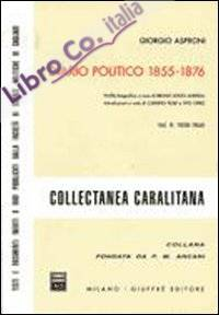 Diario politico 1855-1876. Vol. 2: 1858-1860