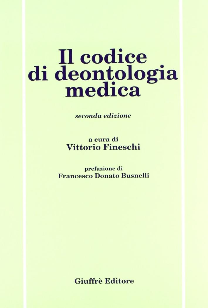 Il codice di deontologia medica