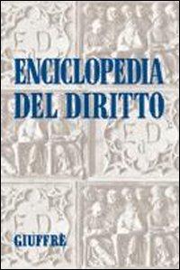 Enciclopedia del diritto. Vol. 18