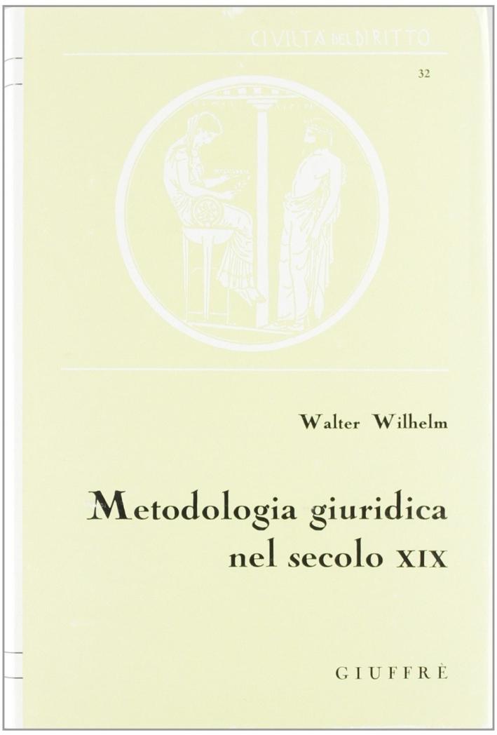 Metodologia giuridica nel secolo XIX