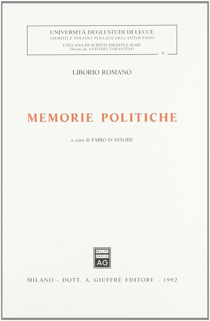 Memorie politiche