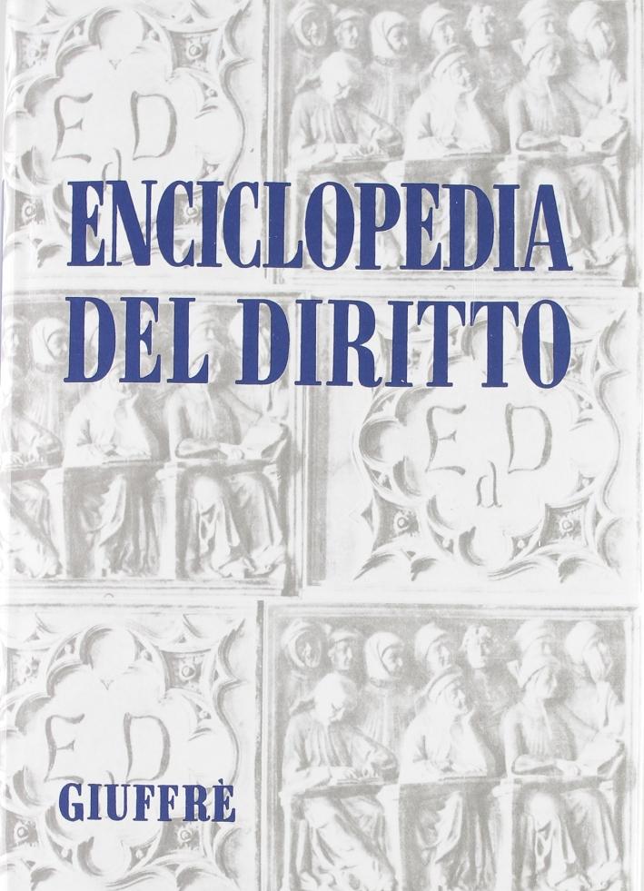 Enciclopedia del diritto. Vol. 44: Tar-Tratt