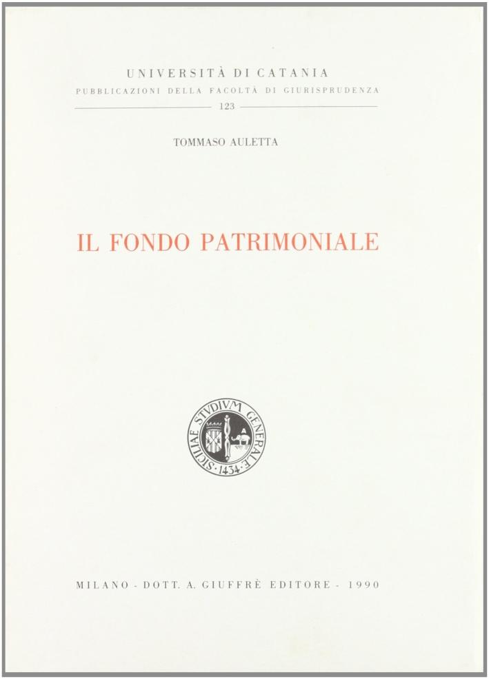 Il fondo patrimoniale