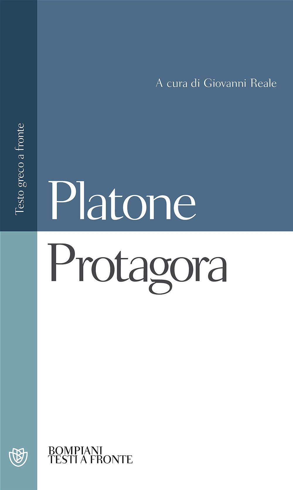 Protagora. Testo greco a fronte