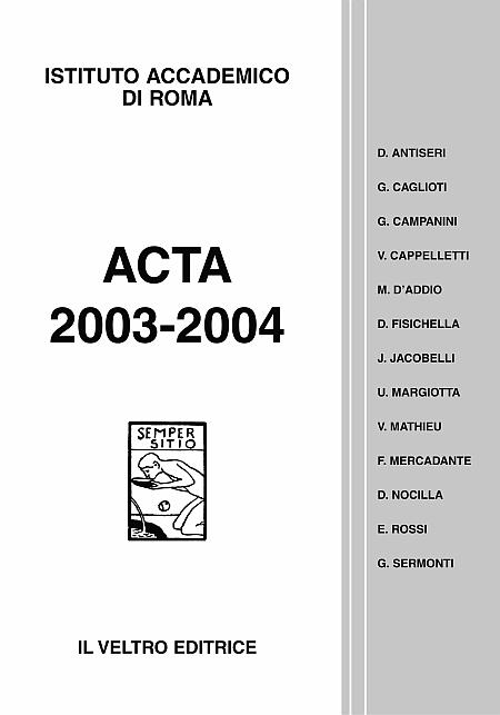 Acta 2003-2004