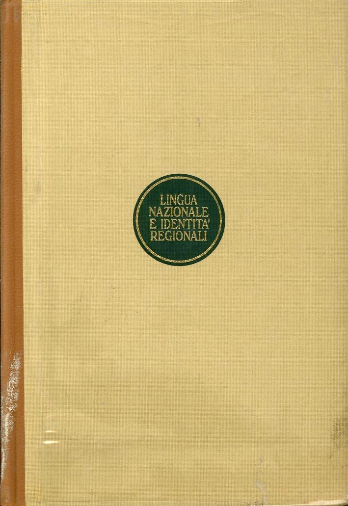 L'Italiano nelle Regioni. Vol. 1. Lingua Nazionale e Identità Regionali. Vol. 2. Testi e Documenti.
