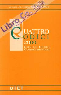 Quattro codici 2000 con le leggi complementari