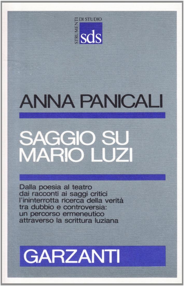 Saggio su Mario Luzi