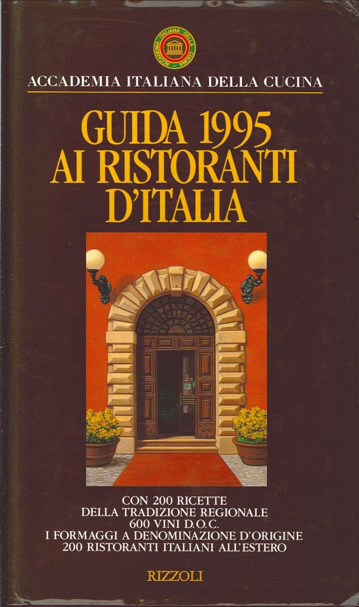 Guida 1995 ai Ristoranti d'Italia