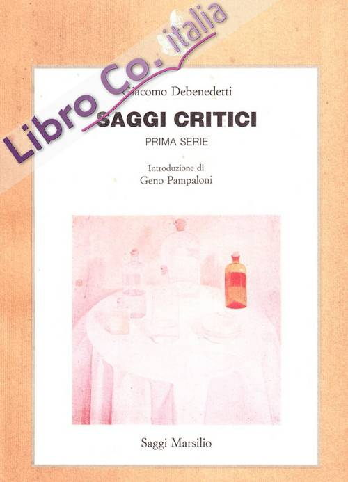 Saggi critici. Vol. 1