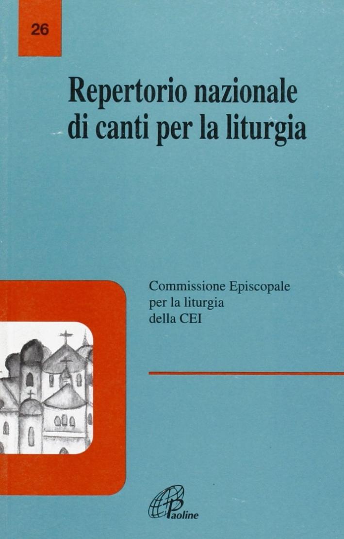 Repertorio nazionale di canti per la liturgia