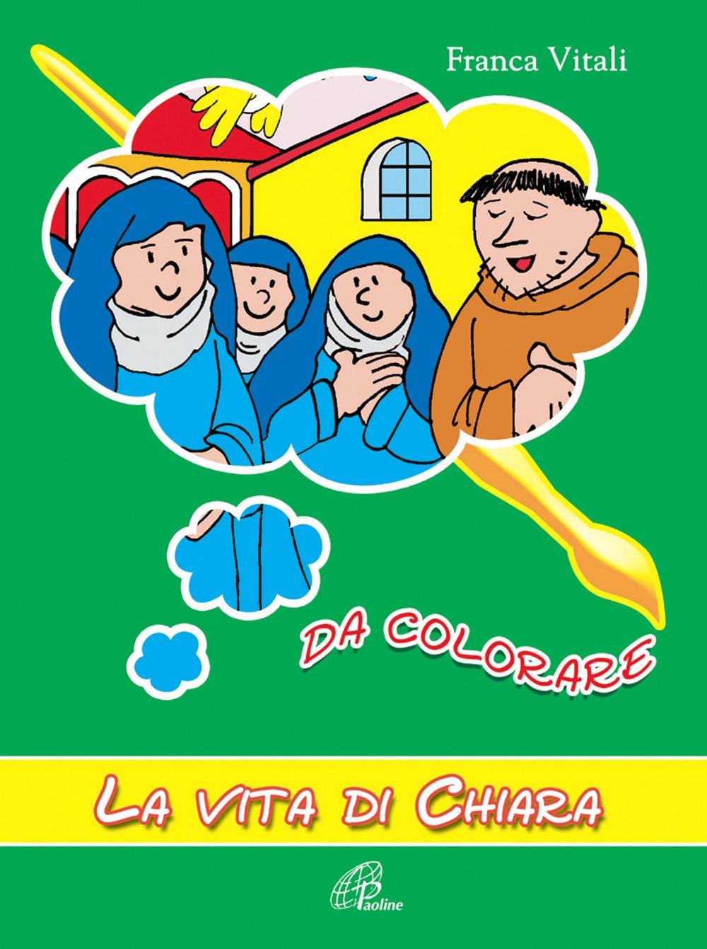 La vita di Chiara da colorare