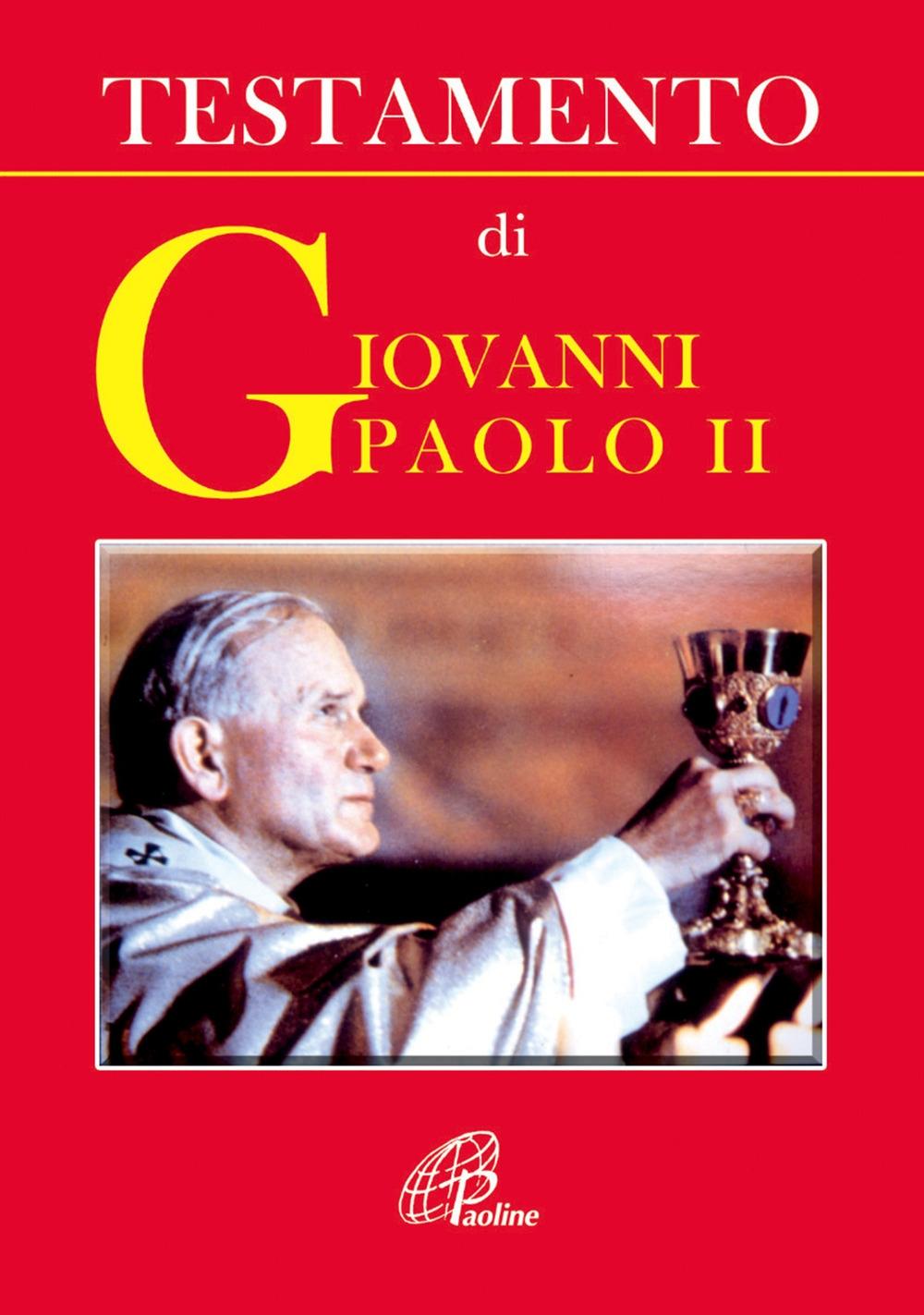 Testamento di Giovanni Paolo II
