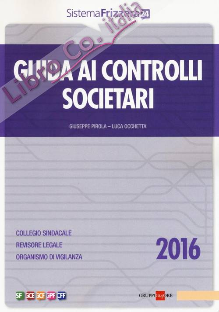 Guida ai controlli societari 2016