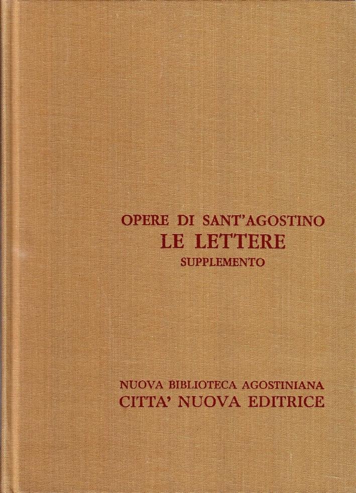 Opera Omnia. Vol. 23/1: le Lettere. Supplemento (1-29)