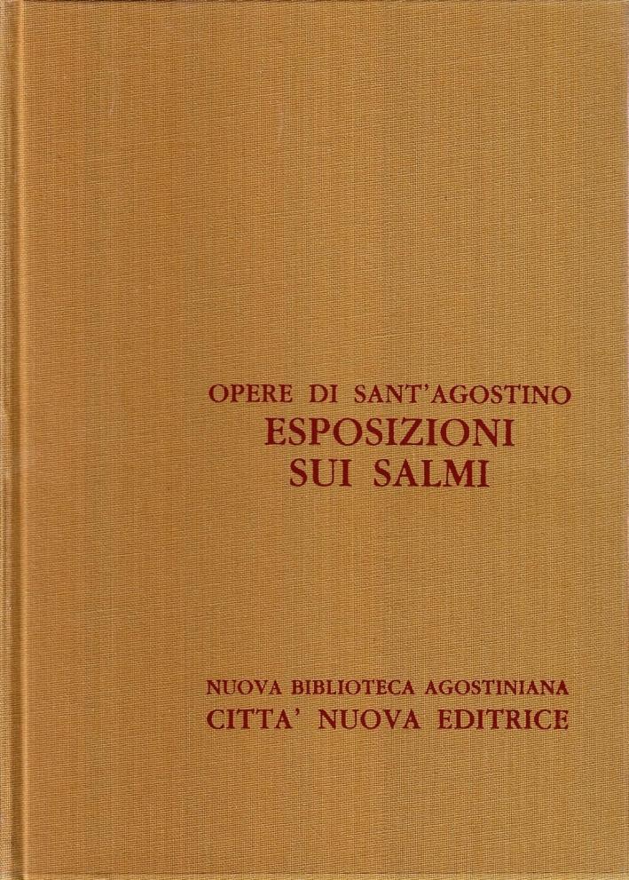 Opera Omnia. Vol. 27/1: Esposizione sui Salmi (2-1)