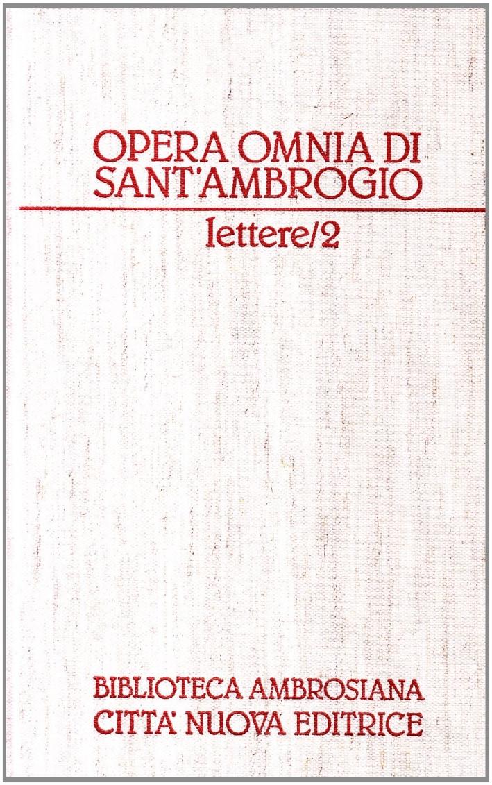 Opera Omnia. Vol. 20/2: Lettere