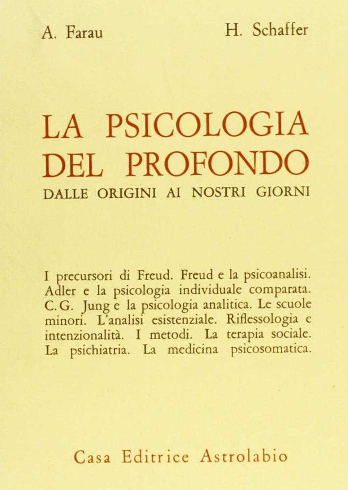 La psicologia del profondo dalle origini ai nostri giorni