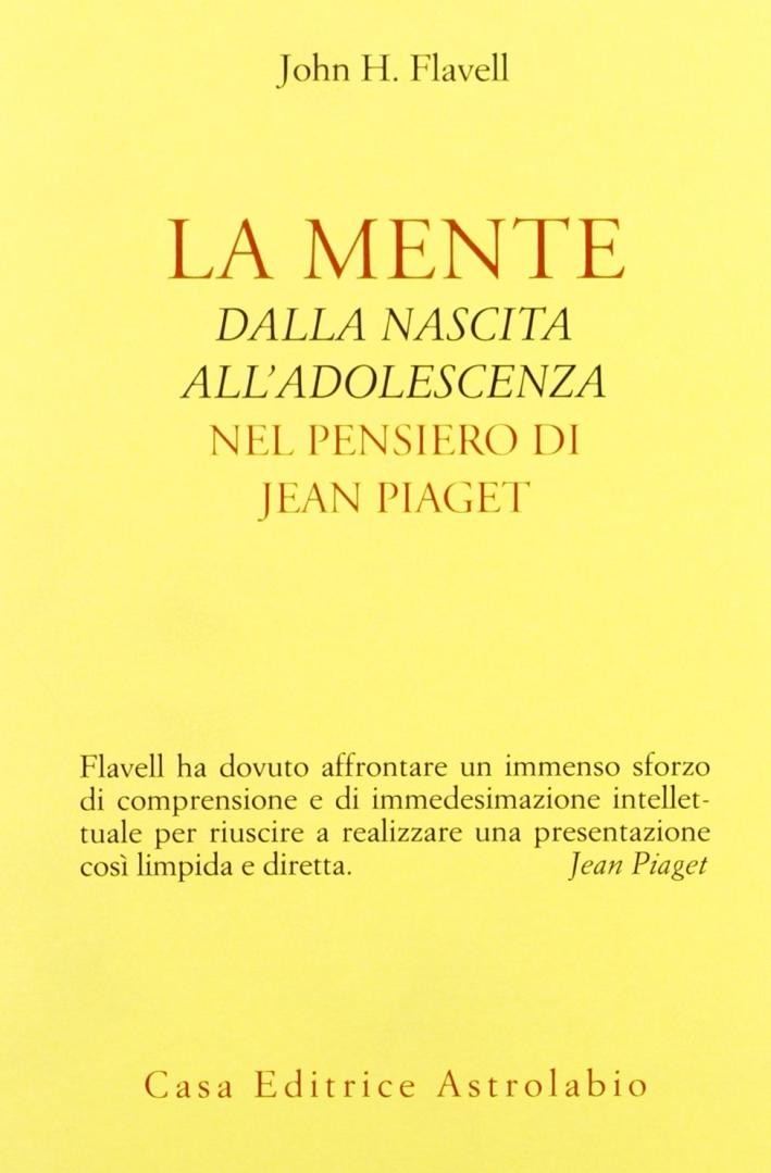 La mente dalla nascita all'adolescenza nel pensiero di Jean Piaget