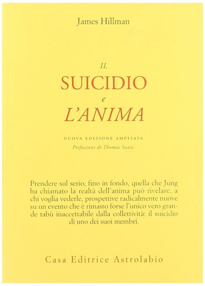 Il suicidio e l'anima.