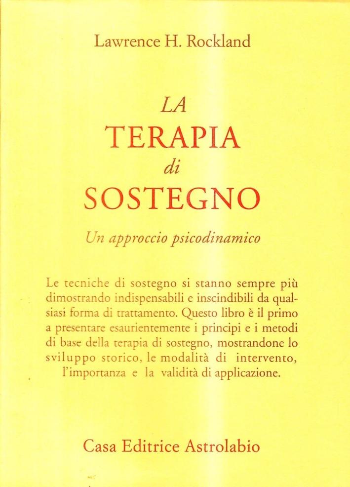 Terapia Di Sostegno.9788834011218 Lawrence H Rockland 1994 La Terapia Di