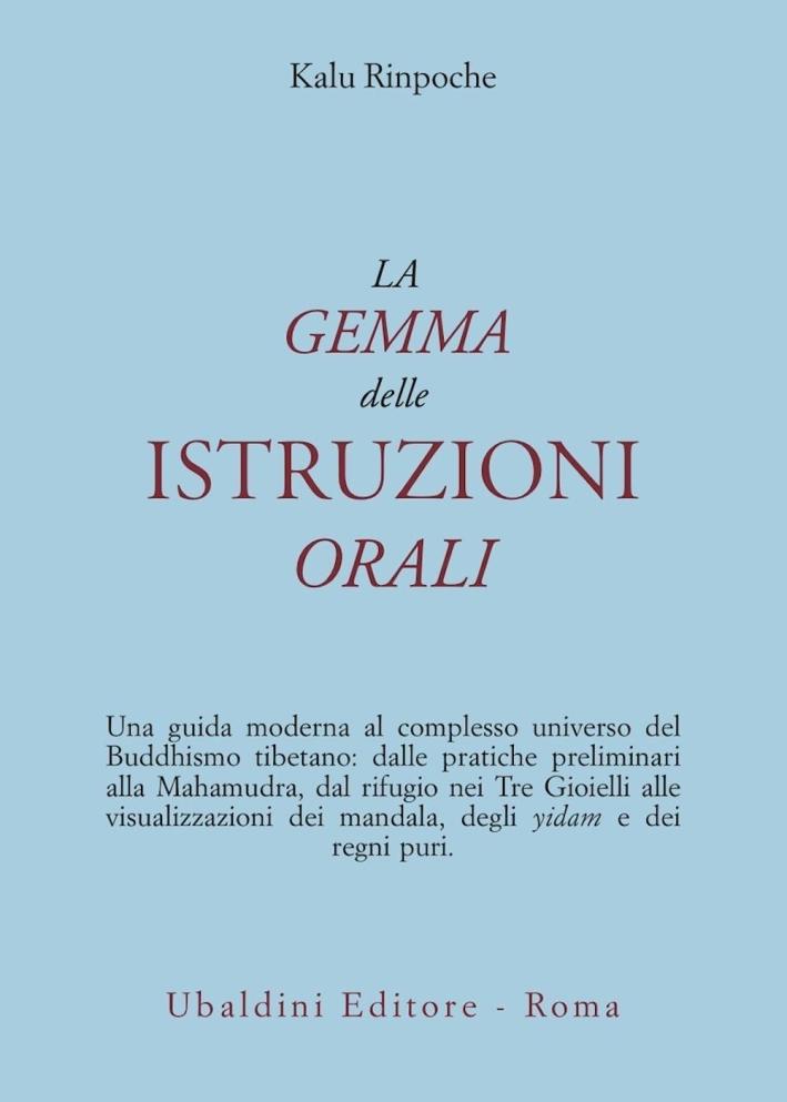 La gemma delle istruzioni orali.