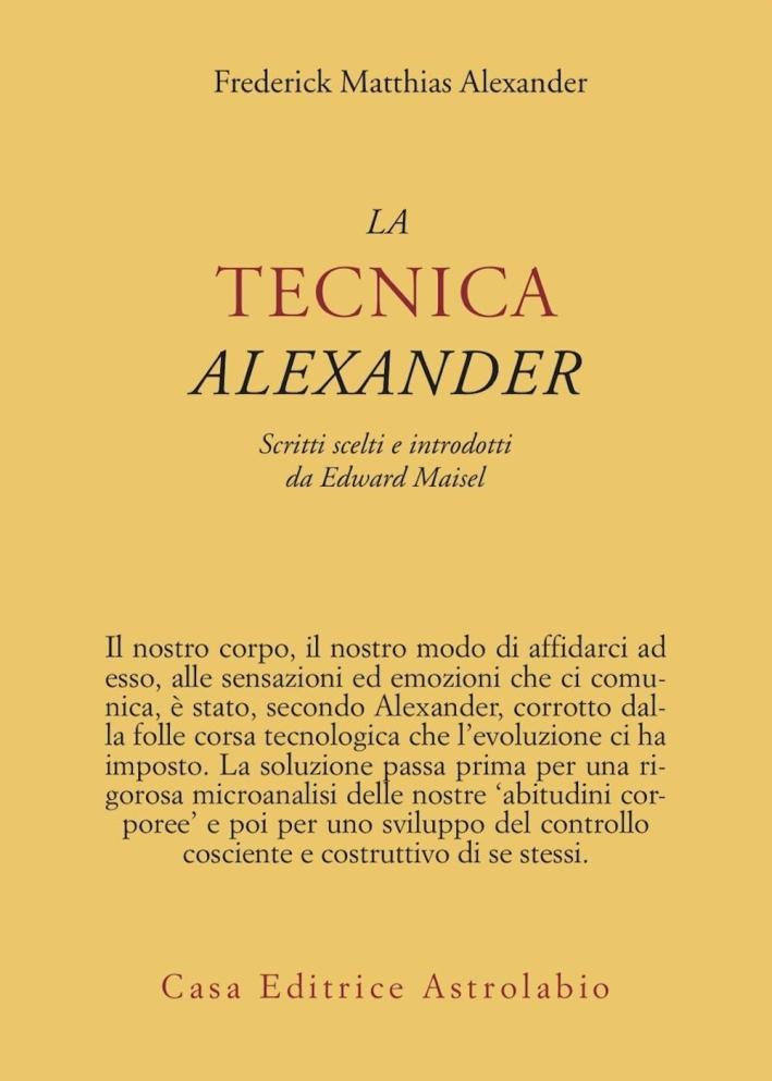 La tecnica Alexander.