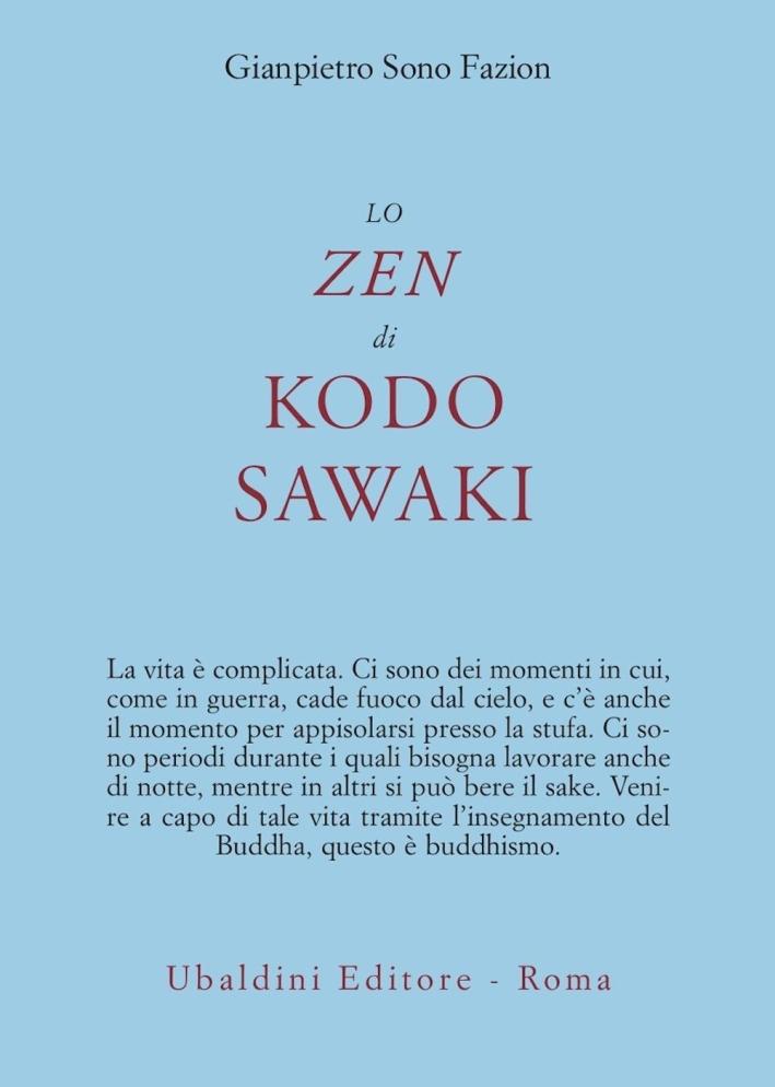 Lo zen di Kodo Sawaki.