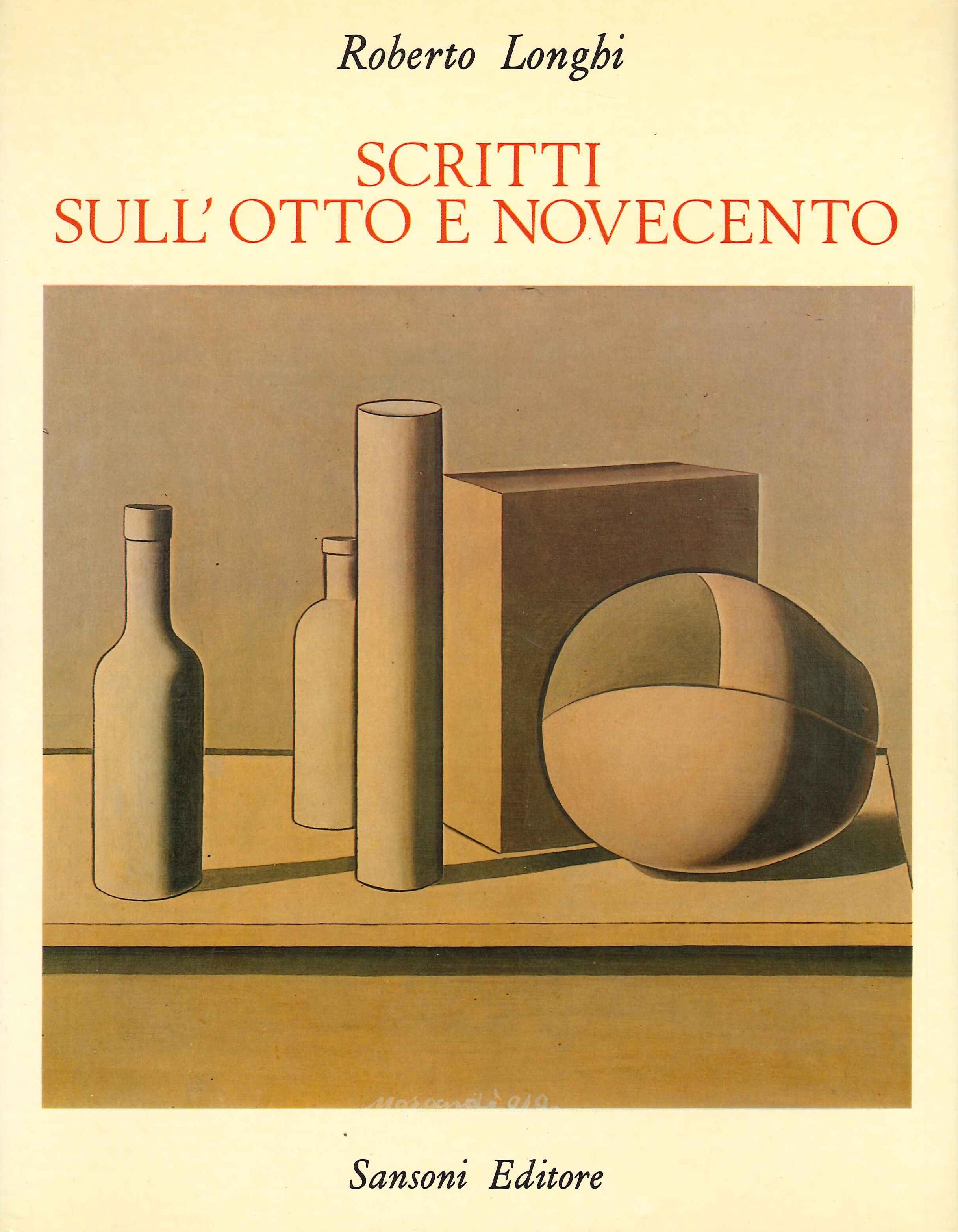 Scritti sull'Otto-Novecento (1925-1966)