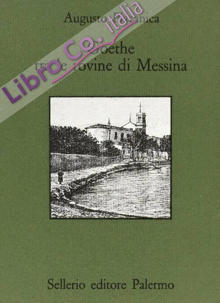 Goethe fra le rovine di Messina.