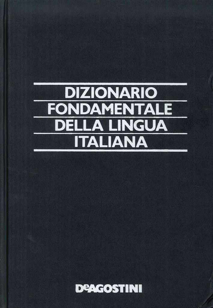 Dizionario fondamentale della lingua italiana