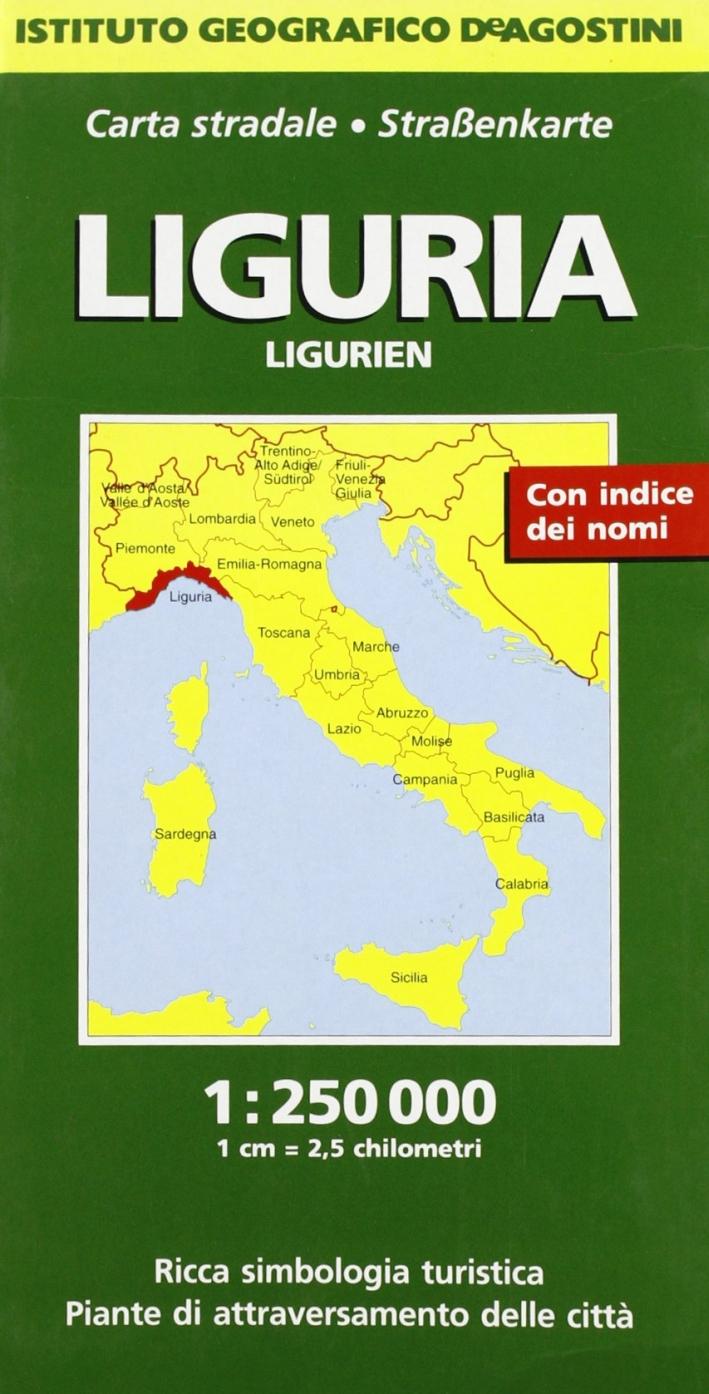 Liguria 1:250.000
