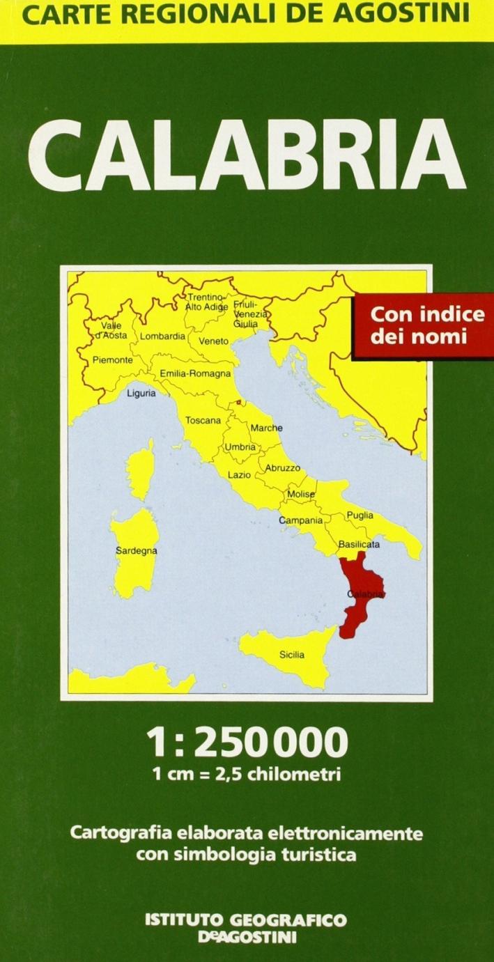 Calabria 1:250.000
