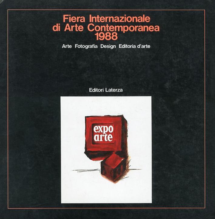 Catalogo Expo Arte 1988. Arte Fotografia Design Editoria d'Arte