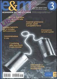 Economia & management. Vol. 3