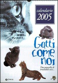 Calendario 2005. Gatti
