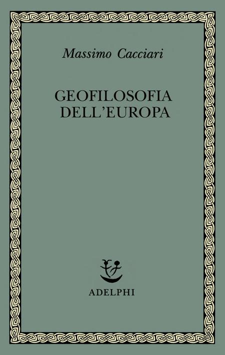 Geofilosofia dell'Europa.
