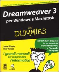 Dreamweaver 3. Per Windows e Macintosh