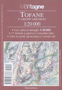 Tofane. Con carta 1:20.000