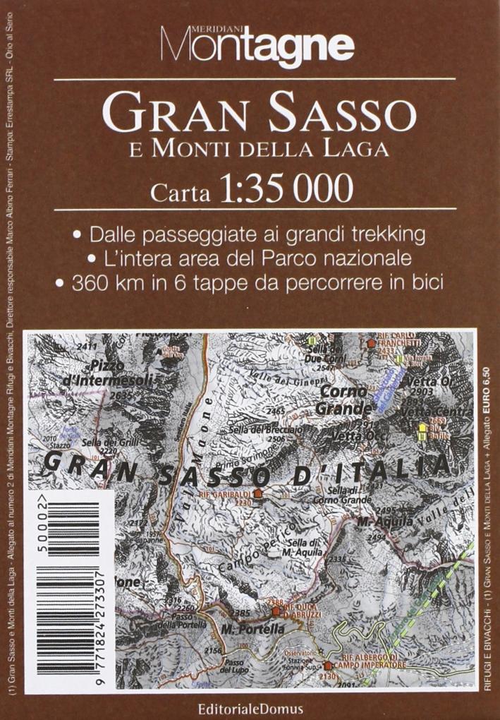 Gran Sasso. Con Carta 1:35.000