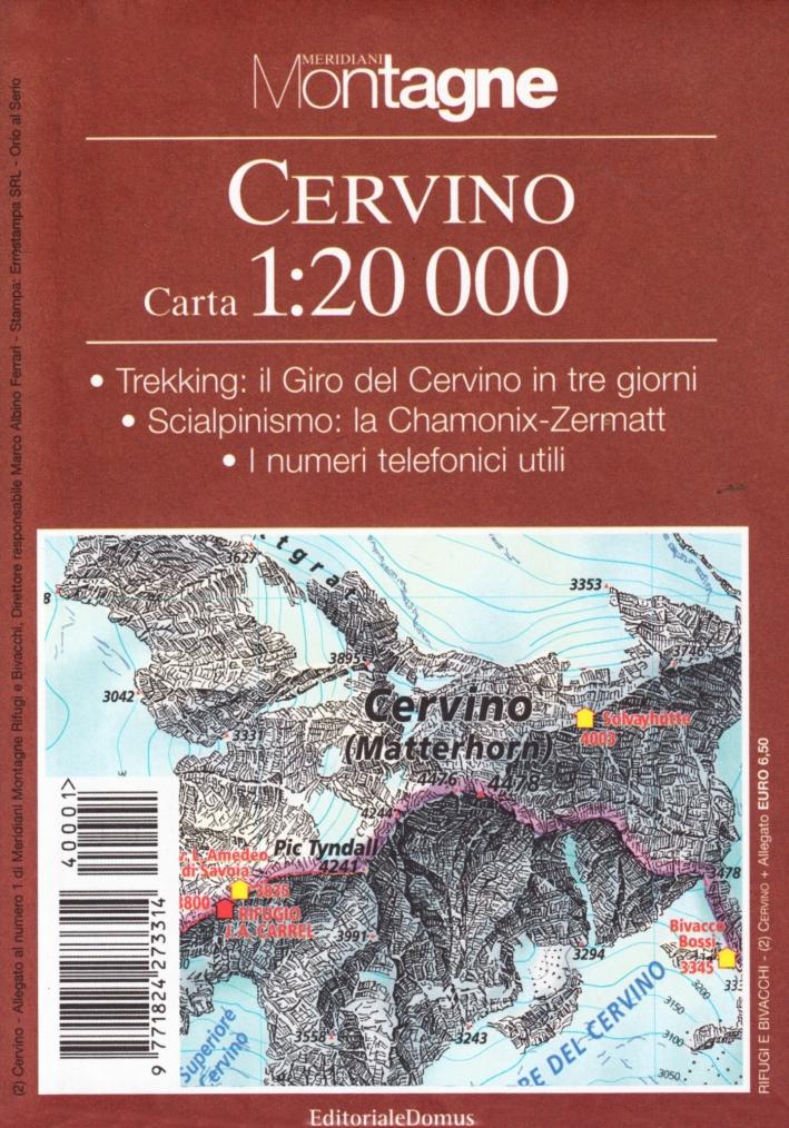 Cervino. Con carta 1:20.000