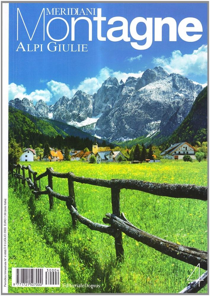 Alpi Giulie. Con cartina
