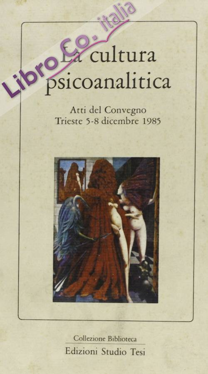 La cultura psicoanalitica