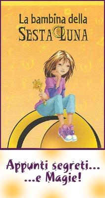 La Bambina della Sesta Luna - Blocco Appunti Piccolo Giallo.