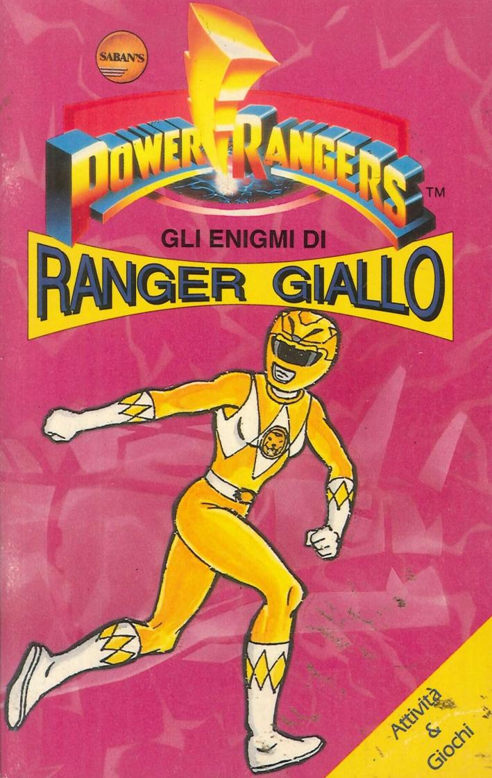 Enigmi di Ranger Giallo