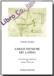 Lingue tecniche del latino.